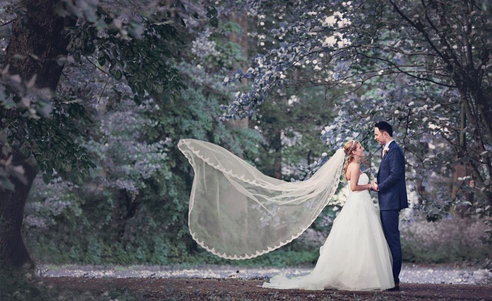 Bruiloftsfotografie van Melvin en Kim