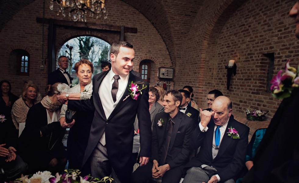 Bruidsfotografie van Patrick en Bas
