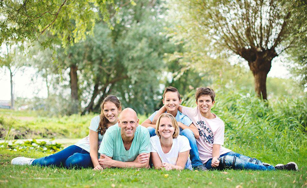 Familieportret fotoshoot Zaanse Schans
