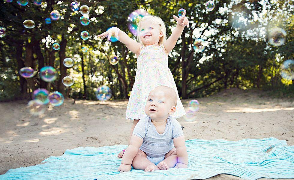 Familieportret fotoshoot Bloemendaal